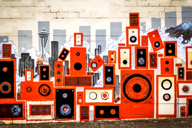 speaker-stacks-mural-seattle