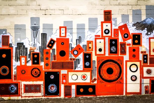 speaker-stacks-mural-seattle